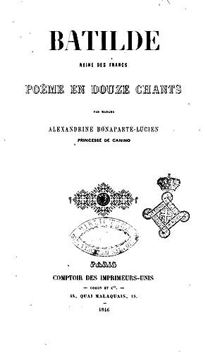 Batilde reine des Francs poeme en douze