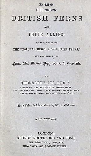British ferns and their allies: an abridgement: Moore, Thomas, 1821-1887