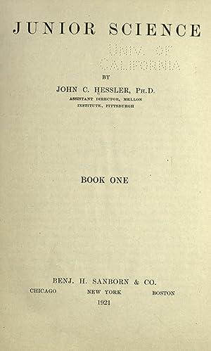 Junior science (Volume: 1) [Reprint]: Hessler, John C.