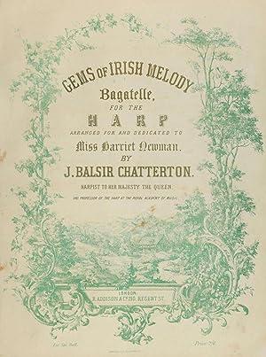 Gems of Irish melody : bagatelle [Reprint]: Chatterton, John Balsir,