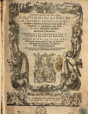 Genealogia de gli dei. I quindici libri: Giovanni Boccaccio