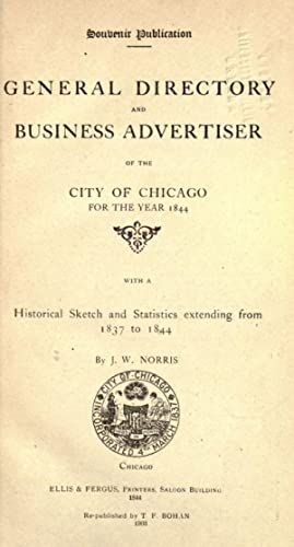 General directory and business advertiser of the: Norris, James Wellington,
