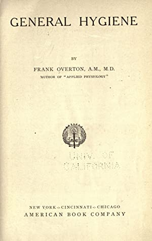 General hygiene [Reprint]: Overton, Frank, b.