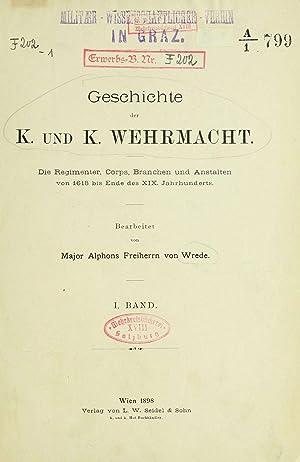 Geschichte der K. und K. Wehrmacht; (1898): Wrede, Alphons, Freiherr