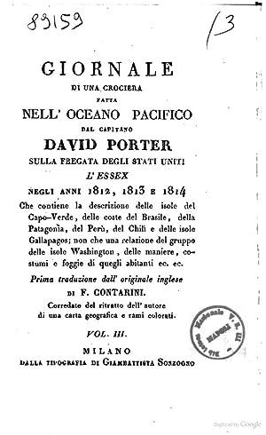 Giornale di una crociera fatta nell'Oceano Pacifico