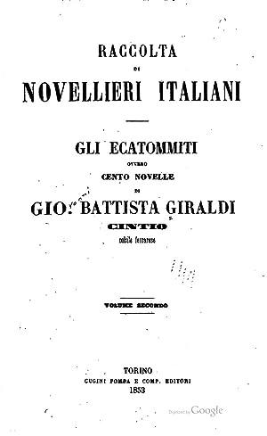 Gli Ecatommiti [Reprint]: Giambattista Cinzio Giraldi