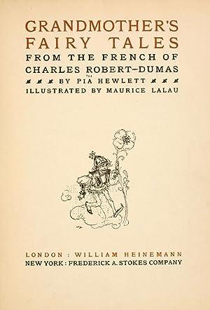 Grandmother's fairy tales [Reprint]: Robert-Dumas, Charles,Hewlett, Pia,Lalau,