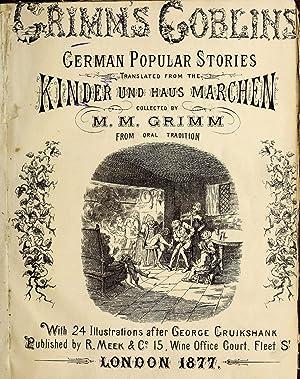 Grimm's goblins : Grimm's household stories (1876): Grimm, Jacob, 1785-1863,Grimm,