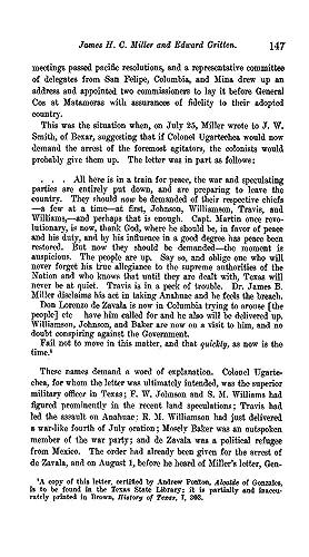 James H. C. Miller and Edward Gritten: Barker, Eugene C.