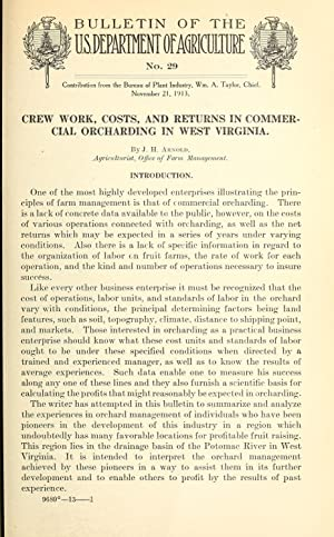 Crew work, costs, and returns in commercial: Arnold, J. H.