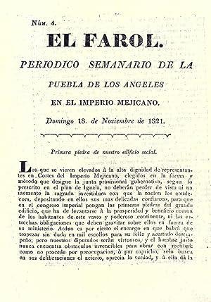 El Farol: Periódico semanario de la Puebla