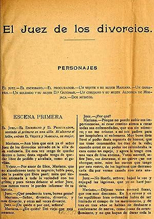 El juez de los divorcios (1800) (Volume: Cervantes Saavedra, Miguel