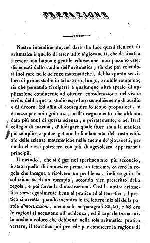 Elementi di aritmetica pratica e teoretica del: Giacomo Schettini