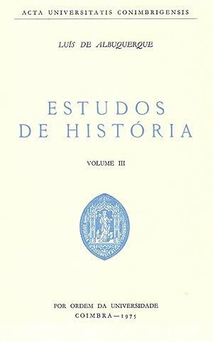 Estudos de História, Volume III [Reprint]: Albuquerque, Luís de