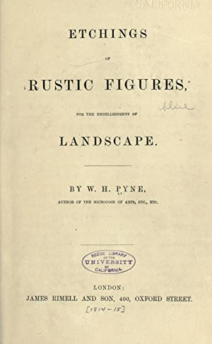 Etchings of rustic figures, for the embellishment: Pyne, W. H.