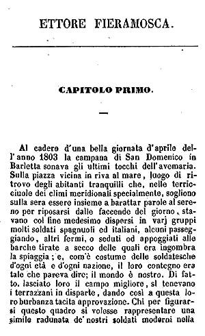 Ettore Fieramosca ossia la disfida di Barletta