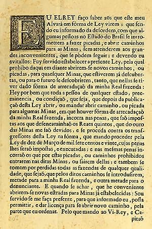 Eu el rey faço saber aos que: Portugal,John V, King