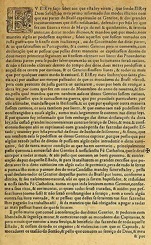 Eu elrey faço saber aos que esta: Portugal,Philip III, King