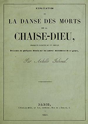 Explication de la Danse des morts de: Jubinal, Achille, 1810-1875