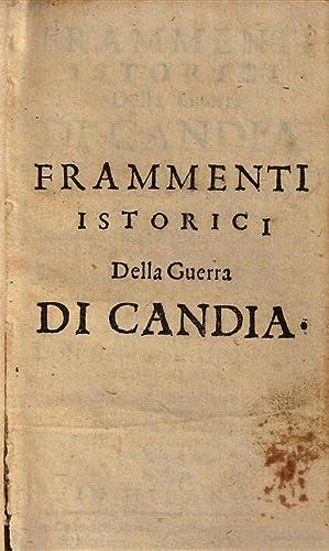 Frammenti istorici della guerra di Candia, di