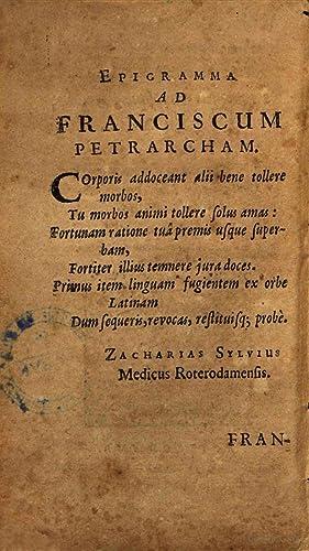 Francisci Petrarchae . De remediis utriusque fortunae,: Francesco Petrarca