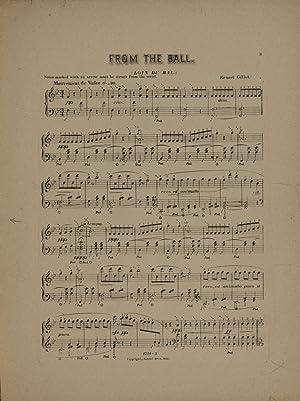 From the ball = Loin du bal: Gillet, Ernest, 1856-1940