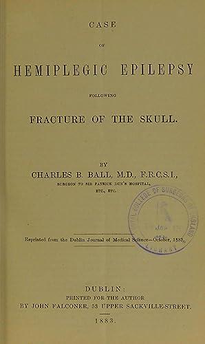 Case of hemiplegic epilepsy following fracture of: Royal College of