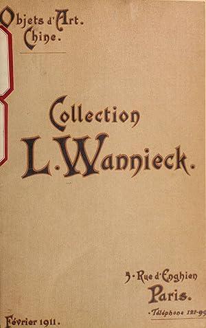 ac967816d5827 Collection L. Wannieck : objets d'art, Chine