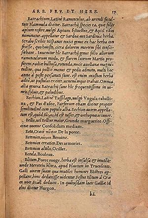 De Latinis et Graecis nominibus arborum, fruticum,: Charles Estienne