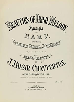 Beauties of Irish melody : fantasia : Chatterton, John Balsir,