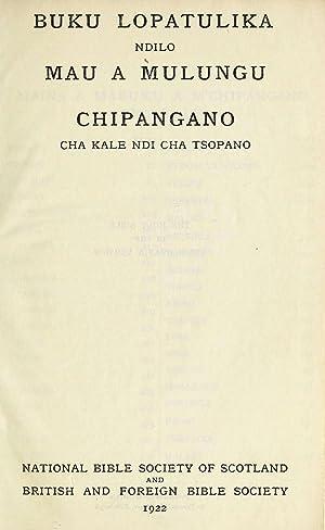 Buku Lopatulika ndilo Mau a Mulungu Chipangano: Murray, William Hoppe,
