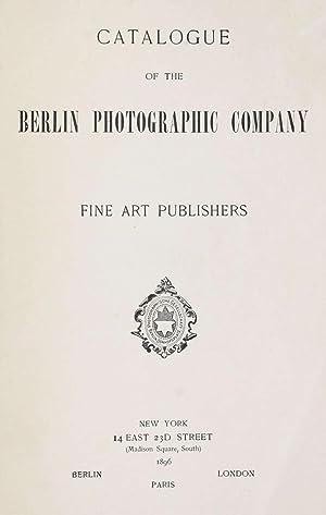 Catalogue of the Berlin Photographic Company : Berlin Photographic Company