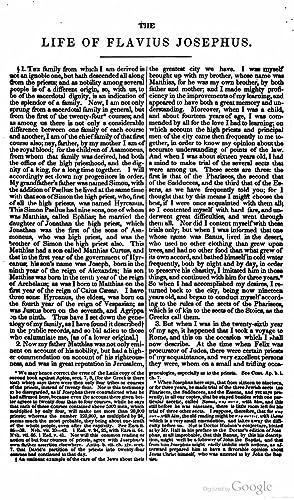 The Complete Works of Flavius-Josephus the Celebrated: William Whiston