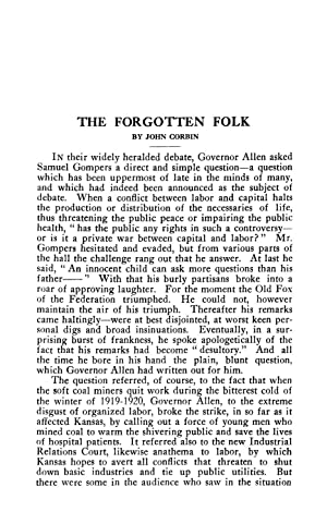 The Forgotten Folk (1920) (Volume: 212) [Reprint]: Corbin, John