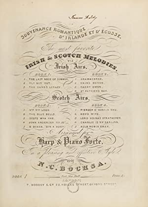 Souvenance romantique d'Irlande et d'Ecosse : the: Bochsa, Robert Nicolas