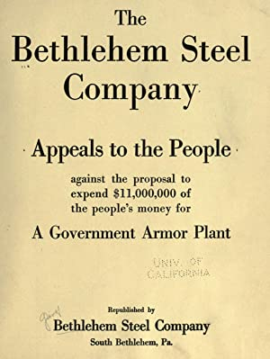 The Bethlehem Steel Company appeals to the: Bethlehem Steel Company