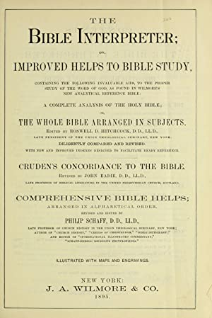 The Bible interpreter : or, improved helps: Hitchcock, Roswell D.