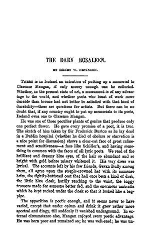 The Dark Rosaleen [Reprint] Volume: 179 (1904): Nevinson, Henry W.