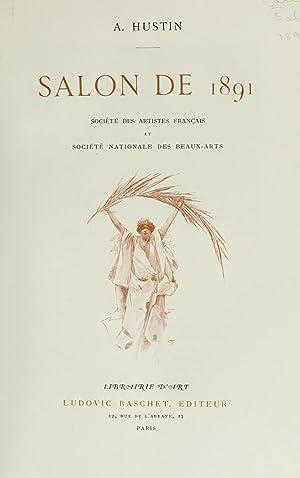 Salon de . (Volume: 1891) [Reprint]: Montrosier, Eugène. Salon