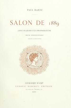 Salon de . (Volume: 1889) [Reprint]: Montrosier, Eugène. Salon