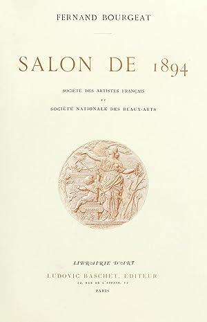 Salon de . (Volume: 1894) [Reprint]: Montrosier, Eugène. Salon
