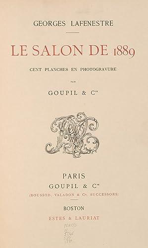 Salon de . (1888) (Volume: 1889) [Reprint]: Burty, Philippe, 1830-1890.