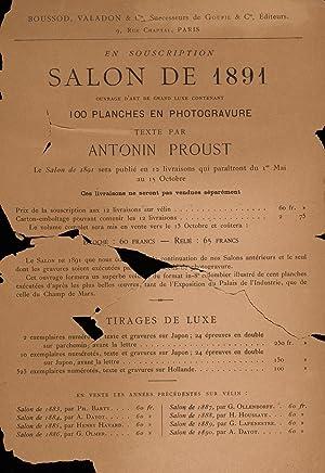 Salon de . (1888) (Volume: 1891) [Reprint]: Burty, Philippe, 1830-1890.