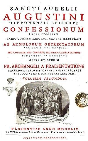 Sancti Aurelii Augustini Hipponensis episcopi Confessionum libri: Aurelius santo Augustinus