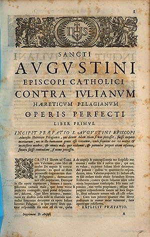 Sancti Aurelii Augustini Hipponensis episcopi. Operum omnium