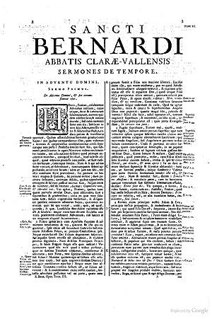 Sancti Bernardi . Opera genuina videlicet in