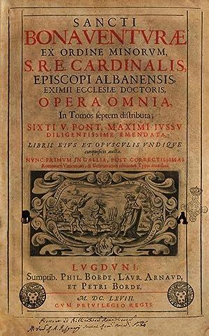 Sancti Bonaventuræ ex Ordine minorum, S.R.E. cardinalis,: Bonaventura : da#Bagnorea