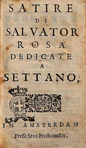Satire di Salvator Rosa dedicate a Settano