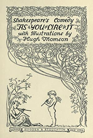 Shakespeare's comedy As you like it [Reprint]: Shakespeare, William, 1564-1616,T.