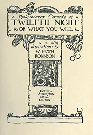 Shakespeare's comedy of Twelfth night : or,: Shakespeare, William, 1564-1616,T.